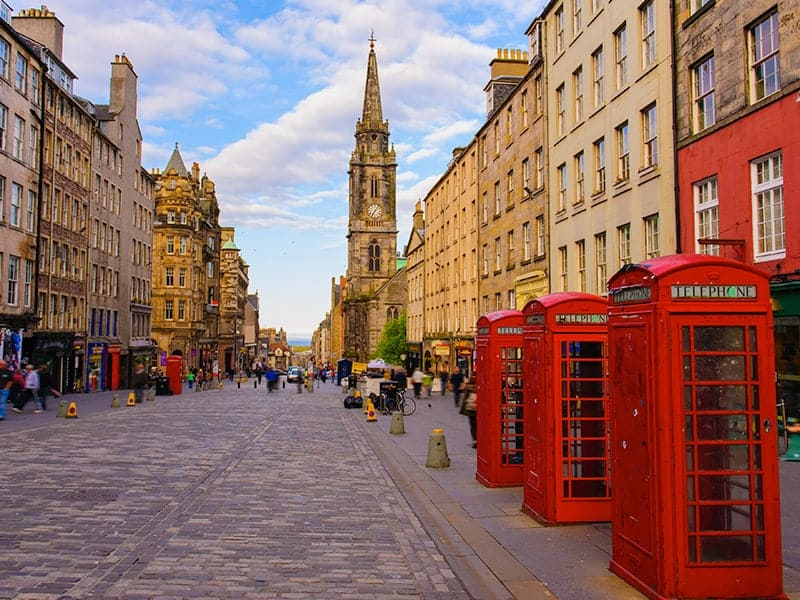 48 Hours in Edinburgh, Scotland