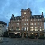 The Malmaison in Edinburgh, Scotland
