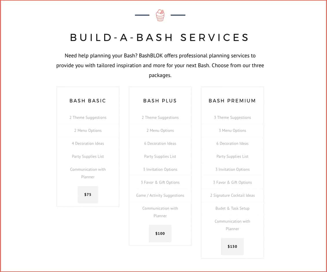 Female Owned Bashblok Launches Party Planning Packages Women S
