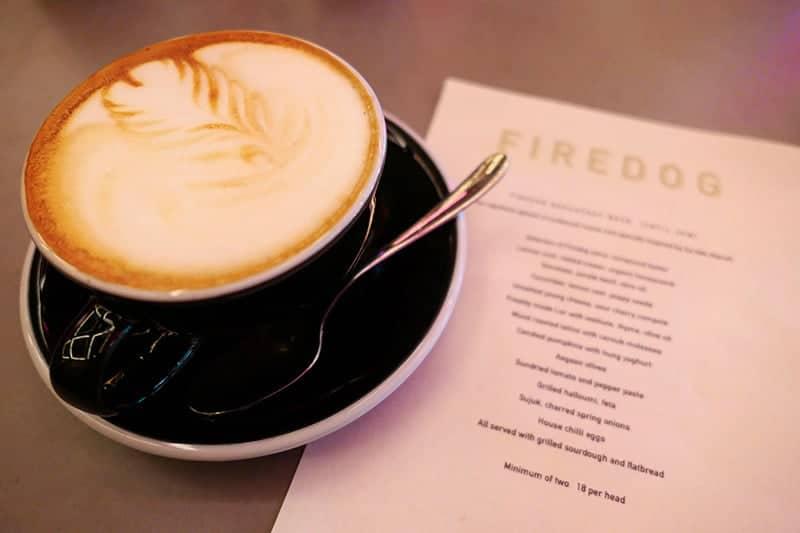 Firedog: Cappuccino