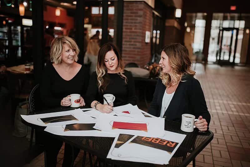 Jeni Kurtyka, Holly Foltz, & Randi Larson: Founders of Pursey