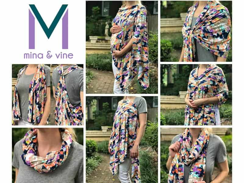 5 Reasons to Love (And How to Style) the Mina & Vine Scarf
